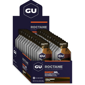 GU Energy Roctane Energy Gel Box 24 x 32g, Cold Brew Coffee